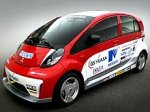 Электромобили Mitsubishi i-MiEV примут участие в гонках электрокаров