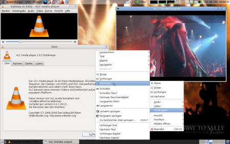 С помощью медиплеера VLC можно захватить чужой ПК